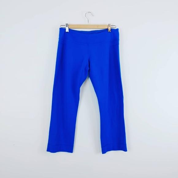LULULEMON | Bright Blue Capri Style Legging Size 8